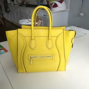 Excellent Condition Celine (yellow)